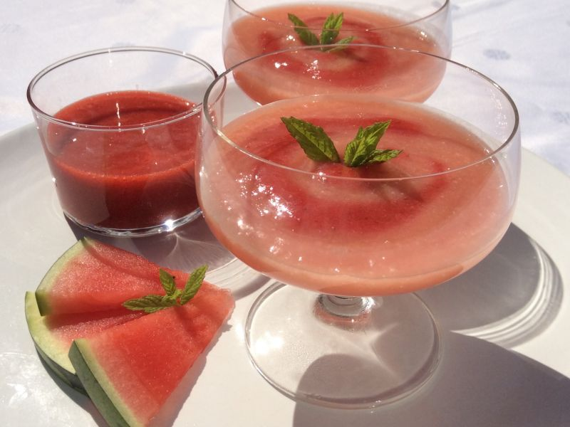 Water Melon Mousse